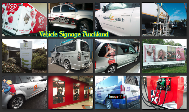 Vehicle signage Auckland