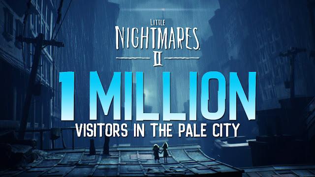little nightmares 2 1 million copy sales switch pc ps4 ps5 xb1 xsx puzzle platformer horror adventure game tarsier studios bandai namco