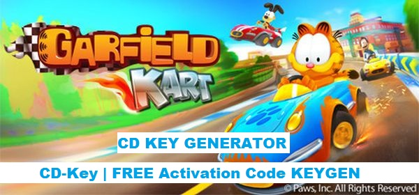 Garfield Kart free steam key