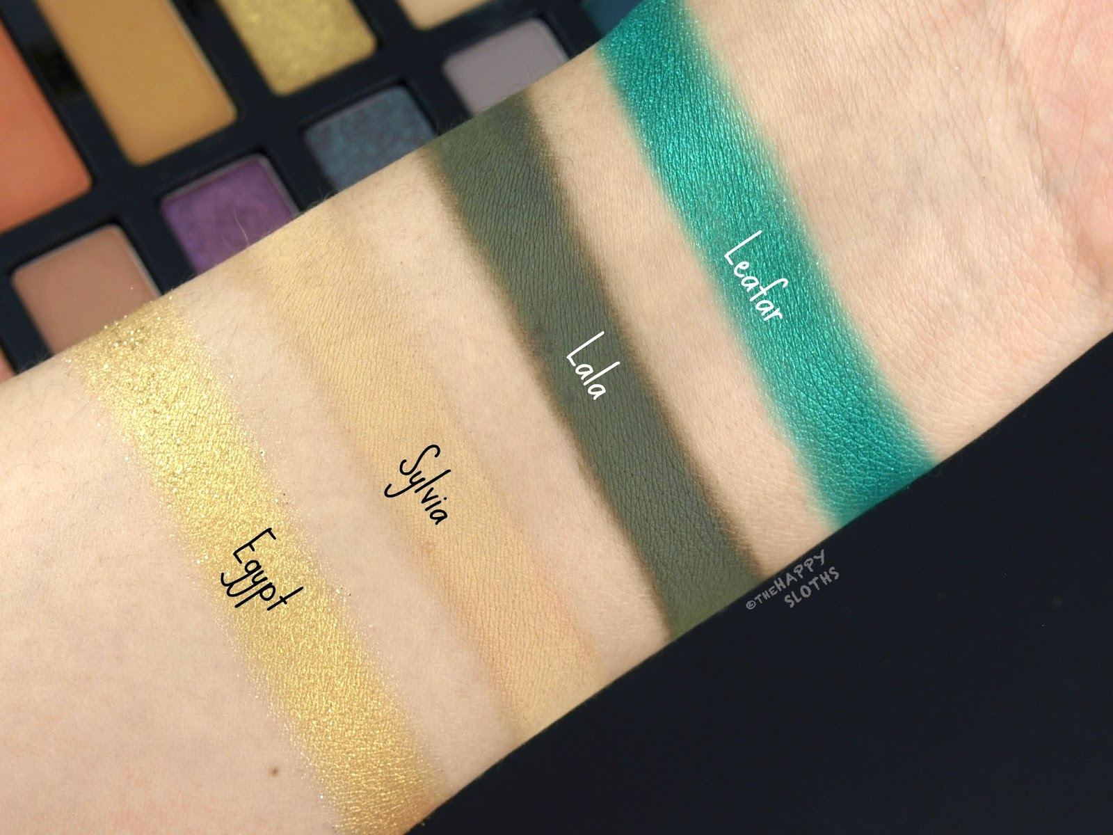 Kat Von D | 10th Anniversary Eyeshadow Palette: Review and Swatches