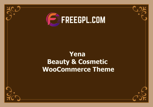 Yena – Beauty & Cosmetic WooCommerce Theme Nulled Download Free