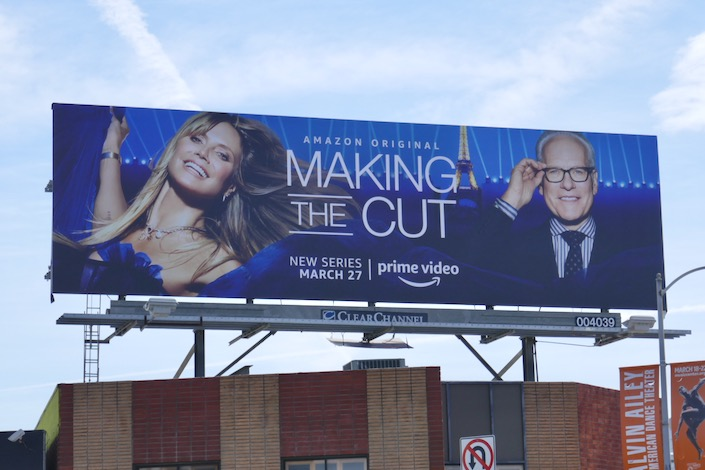 Making the Cut series premiere billboard
