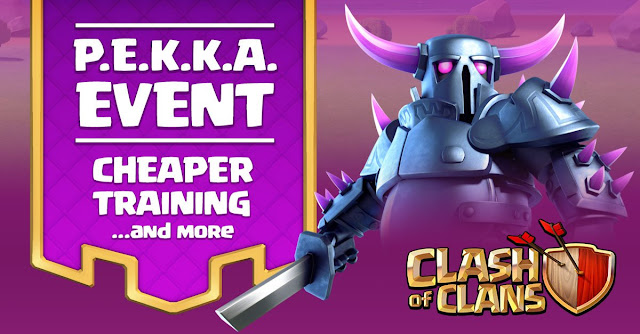 Evento com recompensas e gemas no Clash of Clans