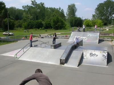 skate park périgueux
