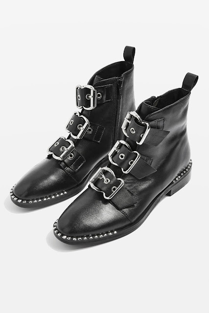 topshop alfie buckle boots, AW17
