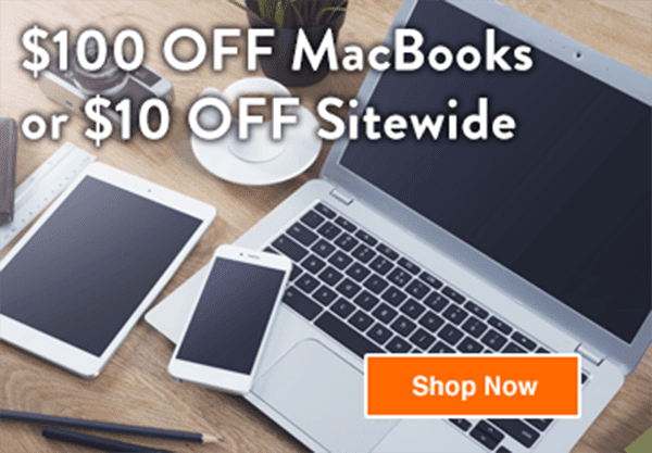 $10 Off Sitewide, Up To $100 Off Some MacBooks at Gazelle (10/23-10/29)