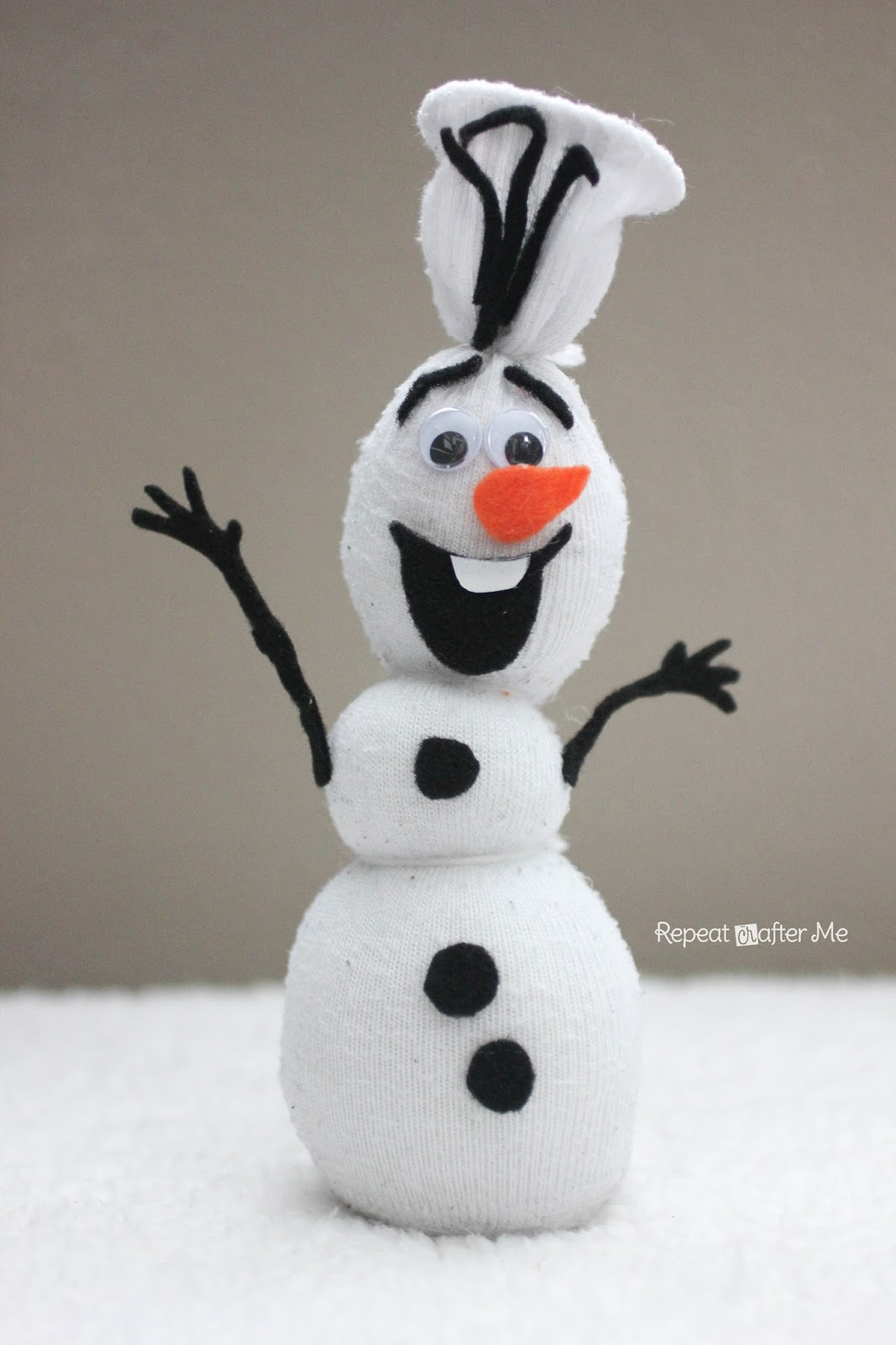 Search Results For Easy Snowman Craft Template