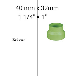 Jual reducer pipa ppr lesso 40mm x 32mm