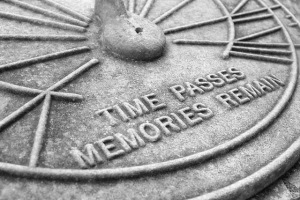 Time Passes Memories Remains