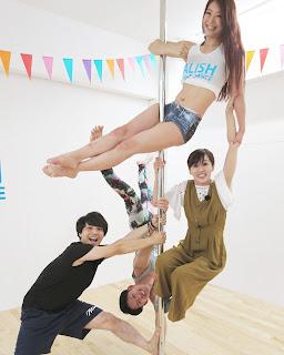 jcom いちイチ市川 ポールダンススタジオ 千葉県市川市 ALISH POLE DANCE