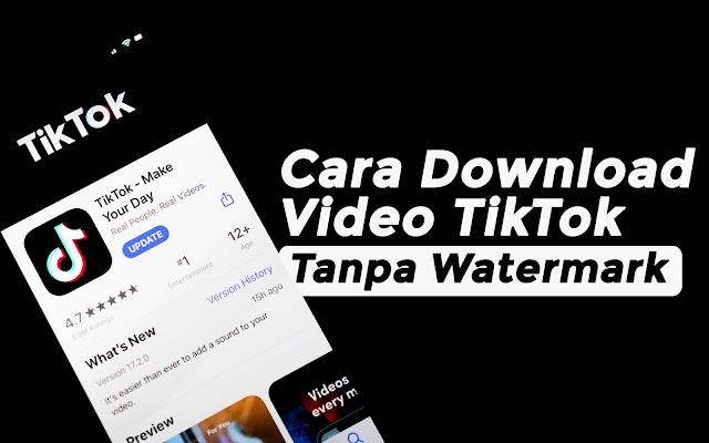 Cara Download Video TikTok Tanpa Watermark Terbaru