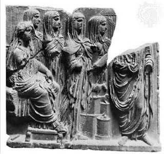 deusa romana vesta virgens vestais