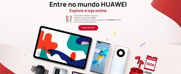 Loja online da Huawei já disponível em Portugal