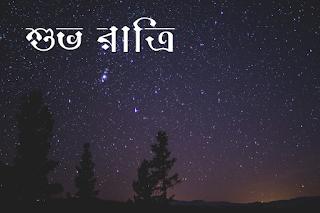 bengali good night image
