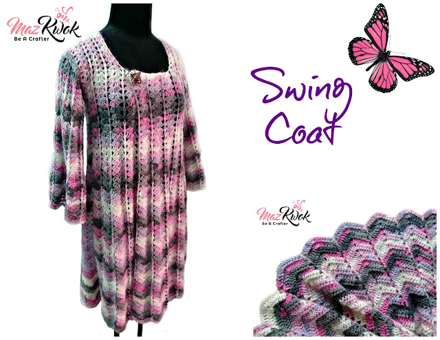 swing coat free crochet pattern
