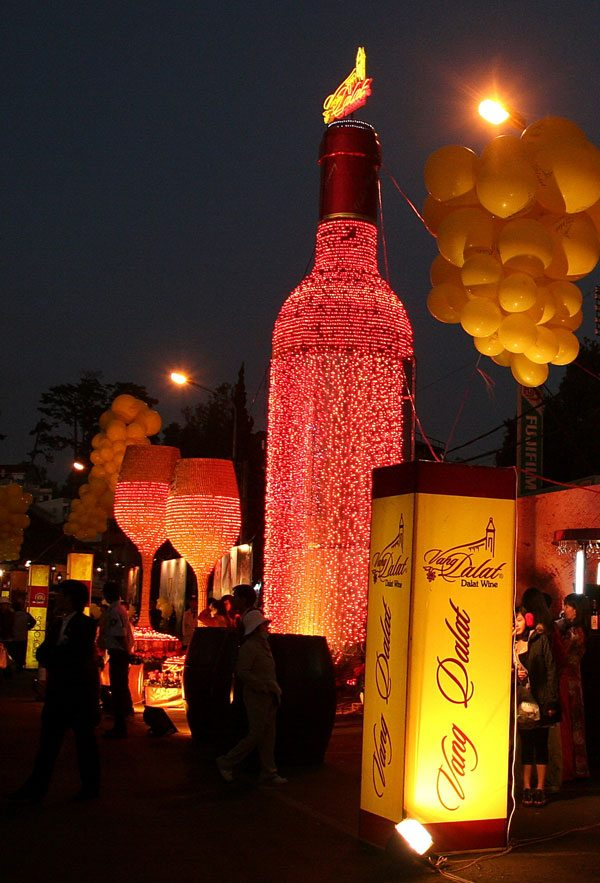 Đêm rượu vang tại Lễ hội hoa Đà Lạt 2017