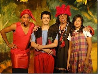 Pátio Alcântara apresenta a peça 'As Histórias do Índio Uirapurú'