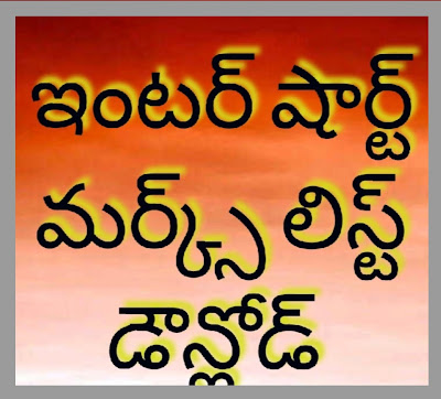 The Board of Intermediate Education Andhra Pradesh (BIEAP)  AP Intermediate Examination short memo's 2020.