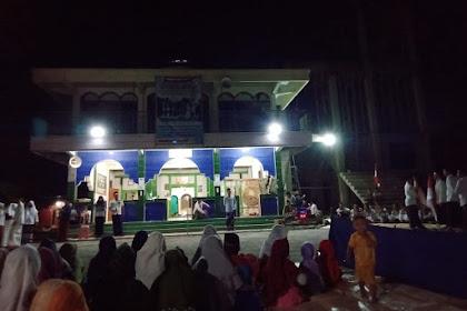 Peringati Hut RI Ke - 75, Takmir Masjid Dukuh Bengkah Laksanakan Upacara Bendera ala Santri