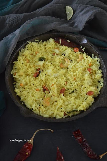 Lemon Rice Recipe | Elumichai Sadham | Variety Rice Recipe