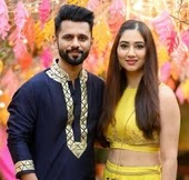 Disha Parmar with her boyfriend