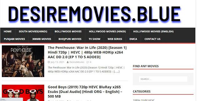 DesireMovies Hindi Movies Website