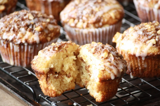 Coffee cake-muffins/Coffeecake muffins