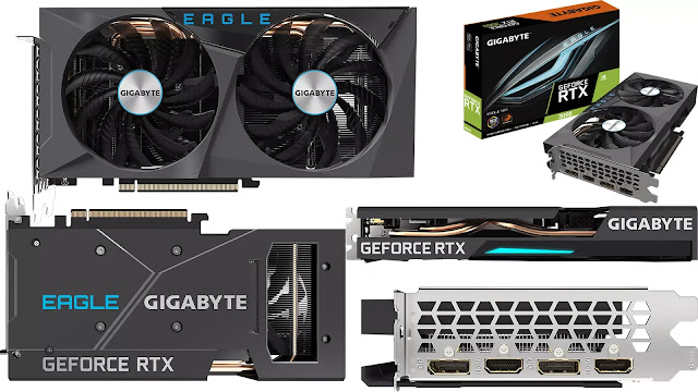 Gigabyte-GeForce-RTX-3060-Eagle-12GB-Front-Back-Top-Side-IO-Box-View