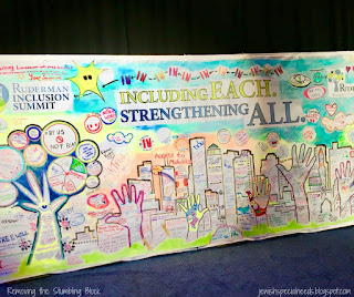 Including Each, Stregnthening All, Ruderman Inclusion Summit; Removing the Stumbling Block