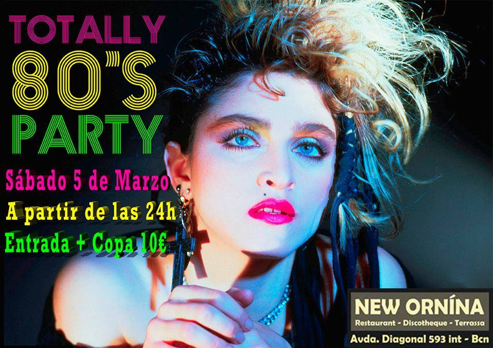 Flyer Fiesta Totally 80s