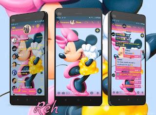 Minnie 2 Theme For YOWhatsApp & Fouad WhatsApp By Reh