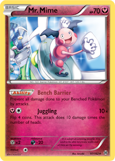 Mr. Mime BREAKthrough Pokemon Card