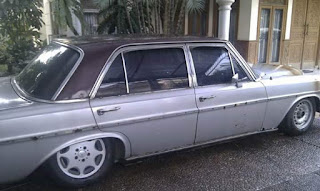 Mercedes Benz 300SEL 1971 bahan cakep..mari yang minat