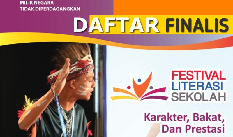 Daftar Finalis Festival Literasi Sekolah (FLS) SMP Tingkat Nasional Tahun 2019