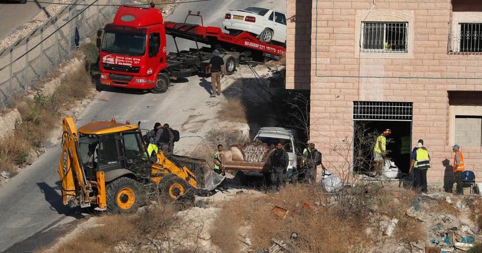 Israel Hancurkan Permukiman Palestina di Sur Baher