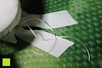 Bänder: Runde Elfenbein Satin bowknot Hochzeit Blumenmädchen Korb Blumenkinderkörbchen