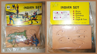 1062 Two Indians & Cowboy; Britains Copies; Britains Herald; Britains Mini Sets; Britains Piracies; Britians Minisets; Cowboys; Cowboys and Indians; Gig Indian Set; GIG Italy; Header Carded Bottle Bag; Hong Kong; Hong Kong Copies; Hong Kong Novelty; Hong Kong Piracy; Hong Kong Plastic Toy; Indian Novelty Toys; Indian Set; Indian Toy Figure; Indians; Made in Hong Kong; No 1062 2 Indians & Cowboy; No. 107; Small Scale World; smallscaleworld.blogspot.com; Toy Cowboy; Toy Indians; Vulture in Tree; Wild West Figures; Wild West Mini Set; Wild West Miniset;