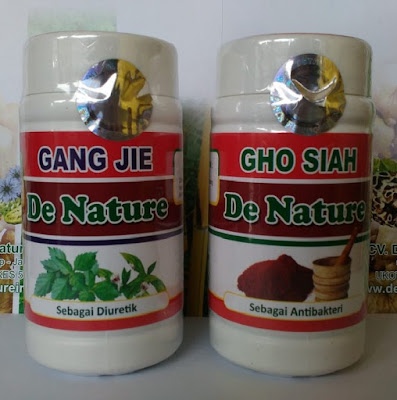 Gang Jie Gho Siah De Nature Obat Kencing Nanah Herbal