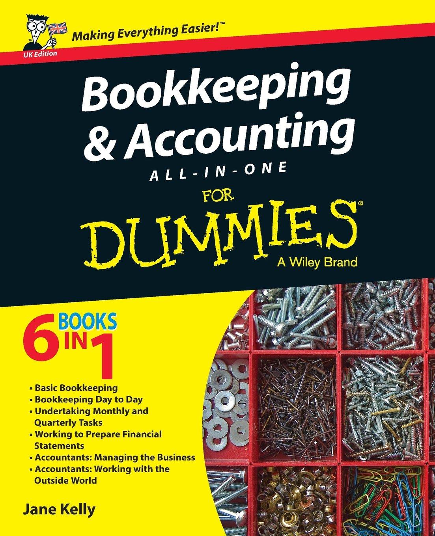 كتاب المحاسبة الشاملة Accounting All-in-One for Dummies
