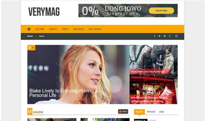 Chia sẻ mẫu blogger VeryMag