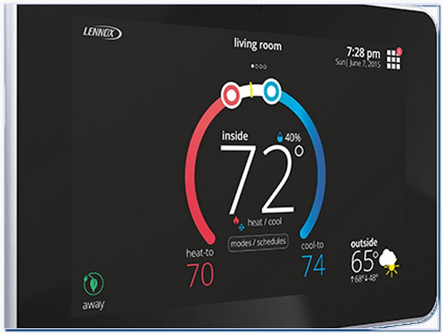 Lennox thermostat circulate mode