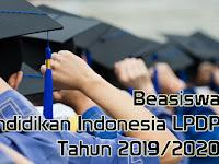Jadwal dan Syarat Pendaftaran Beasiswa Pendidikan Indonesia LDPI Tahun 2019/2020