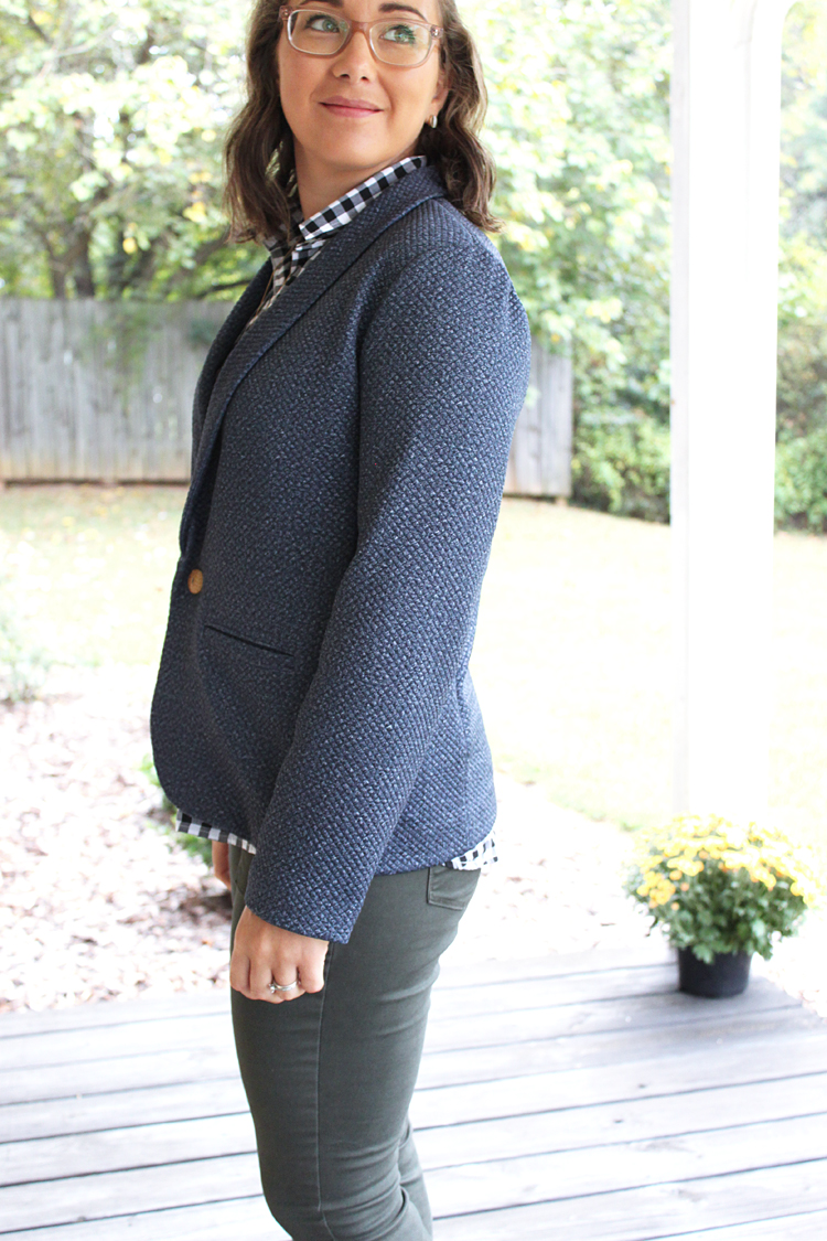 Evans Blazer Pattern Review // Sewing For Women