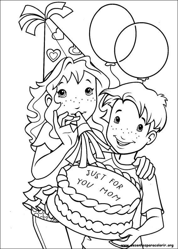Garfield Kleurplaat Verjaardag Desenhos Para Colorir Anivers 225 Rio Para Colorir