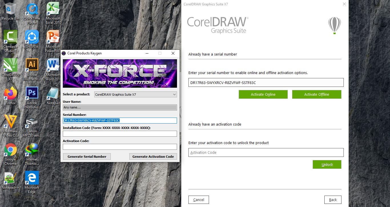 Serial Number Corel Draw X7 Activation Code Offline Dan Cara Menggunakannya Infotechku