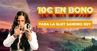 Paston 10 euros gratis Slot de Sandro Rey 16-22 noviembre 2020