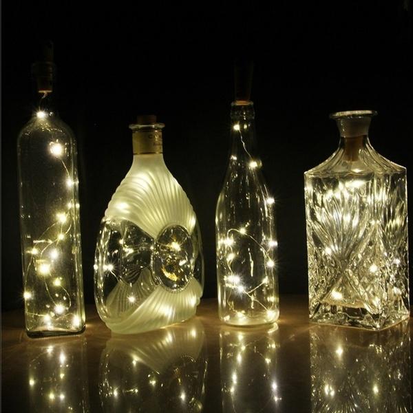 diy bouteille lumineuse