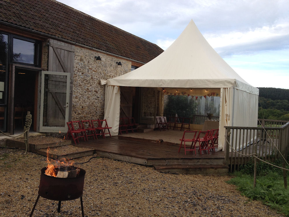 Picture of River Cottage Outside Yurt