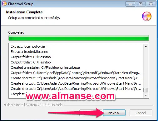 شرح طريقة تسطيب برنامج تفليش هواتف سوني Sony flash tool علي الكمبيوتر