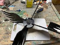 Wings installed